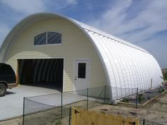 Quonset Hut Garage