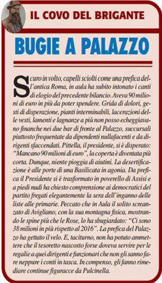 Stampa Lucana rubrica by Antonella Lallo.  Immagine del giorno tratta dal quotidiano La Nuova del Sud.🤣Immagine 2.