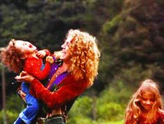 Robert Plant with his kids, the late Karac Pendragon and daughter Carmen Jane. Robert Plant Led Zeppelin, Led Zeppelin Iv, The Sky Tonight, Houses Of The Holy, John Paul Jones, John Bonham, Dancing Day, Whole Lotta Love, Child Loss