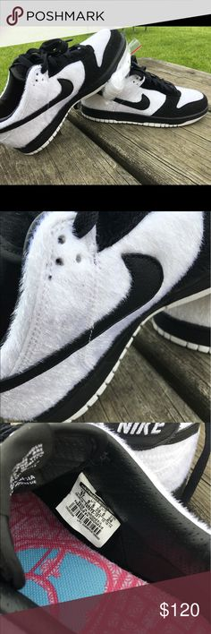PANDA NIKE VENA ATHLETIC GYM SHOES RETRO DUNK GS New Nike Shoes Sneakers