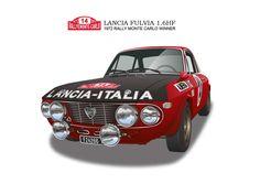 LANCIA Fulvia HF Rally