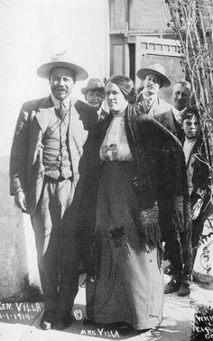 Pancho Villa y Doña Luz Corral