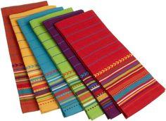 DII Fiesta Sunset Stripe Kitchen Towel, Set of 6 DII http://www.amazon.com/dp/B004MPQZ62/ref=cm_sw_r_pi_dp_kcbqxb0G30YA4