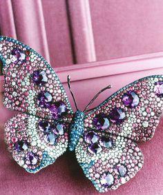 A lovely butterfly brooch by JAR.