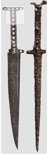 Zwei Basilards, Italien um 1400