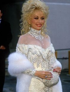 Dolly Parton, so elegant and lovely.