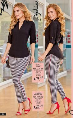 Trendy fitness clothes curvy jeans 49 ideas - Curvy Jeans for women - Ideas of Curvy Jeans for women Black Shirt Outfits, Casual Work Outfits, Work Attire, Work Casual, Classy Outfits, Stylish Outfits, Dress Outfits, Casual Dresses, Fashion Dresses
