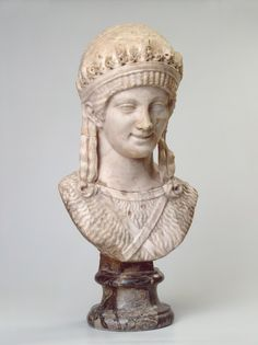 ...Bust of Artemis  Ancient Rome, Second quarter of the 2nd century
