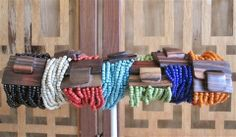Add some color with a Big Buck Bracelet.
