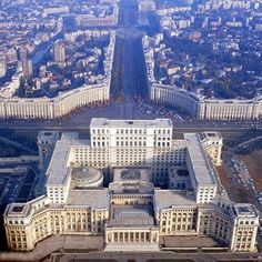 Palace of Parliament, Bucharest, Romania - The second largest building in the world after Pentagon