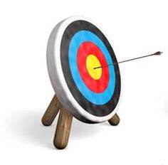 Give it your best shot - if you miss the bullseye, string another arrow and let it fly. Keep at it until you make the shot. That's success.  http://ptemmc.in/SinBoldly