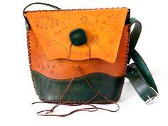 bolsos hechos en cuero artesano
