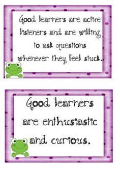 WHAT MAKES A GOOD LEARNER? 21 LABELS FOR THE CLASSROOM - TeachersPayTeachers.com