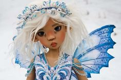 dolls by Martha Boers | Introducing Miki - photos 2011 - Antique Lilac