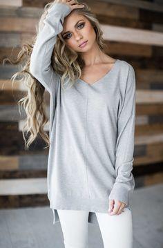 spring sweater, blush, pastel, sweater, spring style, fashion, style, blonde, hair, shop jessakae, shirts, makeup, grey