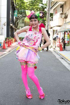 harajuku - honestly I wish I could dress like this! <3