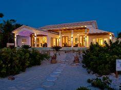 Sapphire Sunsets Beach Villa is a newly renovated luxury villa right on beautiful Sapodilla Beach in Providenciales.