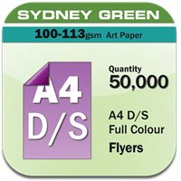 Double Sided Full colour Flyers Printing