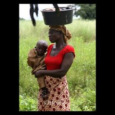 Mother and child - Ghana