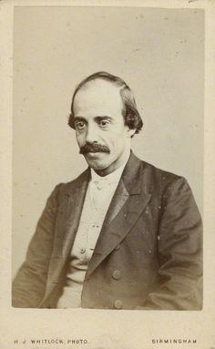 Paul Belloni du Chaillu by Henry Joseph Whitlock albumen carte-de-visite, 1870s