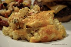 CHEESY POTATO CASSEROLE adapted from Santa Fe Depot Diner in Leavenworth, Kansas~~Made 2/16/14 RG~~ good EASY recipe...no peeling or cutting up potatoes the recipe uses frozen O'Brien potatoes.