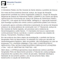 RN POLITICA EM DIA: A VEZ DE UMA CIDADEZINHA ALI DO ALTO OESTE, ESTÁ C...