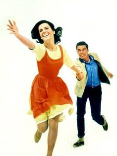 Photo: West Side Story Natalie Wood and Richard Beymer, 1961 : 24x18in