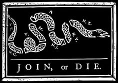 Join Or Die In Black And White Framed Art Print by Bruce Stanfield - Vector Black - Join Or Die Flag, Ace Flag, Framed Art Prints, Canvas Prints, Thing 1, Flag Stand, Benjamin Franklin, House Flags, Founding Fathers