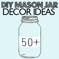 Mason Jars diy-craft-ideas