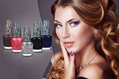 £9.99 instead of £57.50 (from JustShe) for a set of 5 OPI crackle nail polishes - choose from 2 sets and save 83%