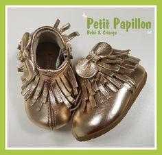 Tênis Infantil Feminino Gloss Dourado Klin