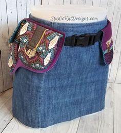 StudioKat Designs' Festival Pocket Belt  A Paper Sewing Pattern from StudioKat Designspap
