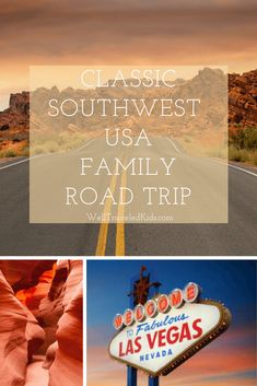 Las Vegas, Grand Canyon & Zion National Park: The Classic American Family Road Trip Us Road Trip, Road Trip With Kids, Family Road Trips, Road Trip Hacks, Las Vegas Grand Canyon, Grand Canyon Vacation, Family Vacation Destinations, Family Vacations, Utah Vacation