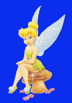 A Glitter Graphics image from glitter-graphics.com _ Walt Disney Tinkerbell _ JUANITA PEACHLAND ♡ ♡ ♡ ♡