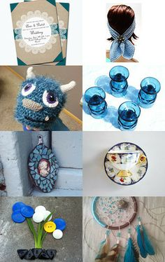 Out of the Blue by Silvana Sagan on Etsy--Pinned with TreasuryPin.com