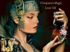 No237 Queen Cleopatra oil. Love elixir. desire. by truewishes, $25.55