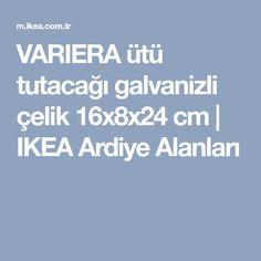 VARIERA ütü tutacağı galvanizli çelik 16x8x24 cm | IKEA Ardiye Alanları