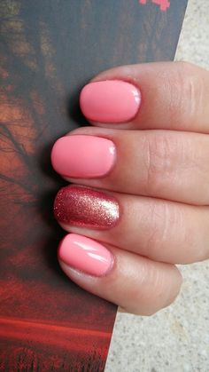 Semilac 102 Pastel Peach, 094 Pink Gold
