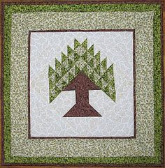 Tree Of Life Tree Quilt And Quilt Blocks On Pinterest
