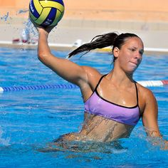 Stay active in the water! #waterpolo #active