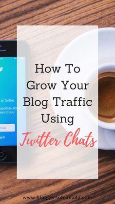 Blog traffic Twitter chat