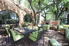 Mansion Restaurant at Rosewood Mansion on Turtle Creek...where Chelsea works!