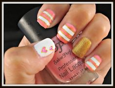 Southern Sister Polish: Nail Art Wednesday....I ♥ you!