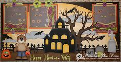 Patterns by Treasure Box Designs and Little Scraps of Heaven Designs.  Available on ebay here:  http://www.ebay.com/itm/MOMZ-Halloween-Premade-Scrapbook-Pages-w-paper-piecing-by-Julie-Happy-Howlo-/300777213125?pt=LH_DefaultDomain_0=item4607b80cc5#ht_11753wt_1205