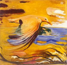 Brett Whiteley Australian Painting, Australian Birds, Australian Artists, Modern Art Artists, Avant Garde Artists, Great Paintings, Artist Painting, Landscape Art, Animal Drawings