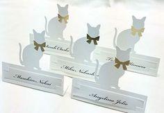 Sitting Card【Cat】 席札 ねこ|席札 結婚式ペーパーアイテムや披露宴のパンフレット形の席次表など。こだわりブライダルのお手伝いトゥルーハートイズプット。