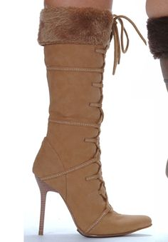 79f86f05501 Ellie shoes 433-VIKING Amazing boots in high heel platform motif on pointed  toe design