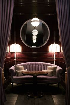 The american bar at gleneagles - david collins studio lounge Lounge Design, Bar Lounge, Lounge Chairs, Room Chairs, Bar Interior Design, Top Interior Designers, Cafe Interior, Booth Seating, Bar Seating