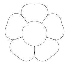 Flower template