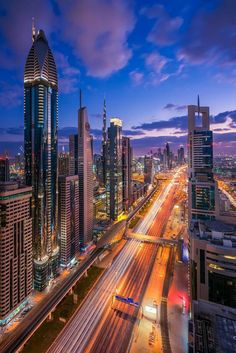 """Intergalactic City"" Dubai by Albert Dros . Dubai is the most populous city in the United Arab Emirates . Dubai City, Dubai Uae, Dubai Was Lit, Science Fiction, Fiction Film, Voyage Dubai, Time Images, Cityscape Photography, Futuristic City"